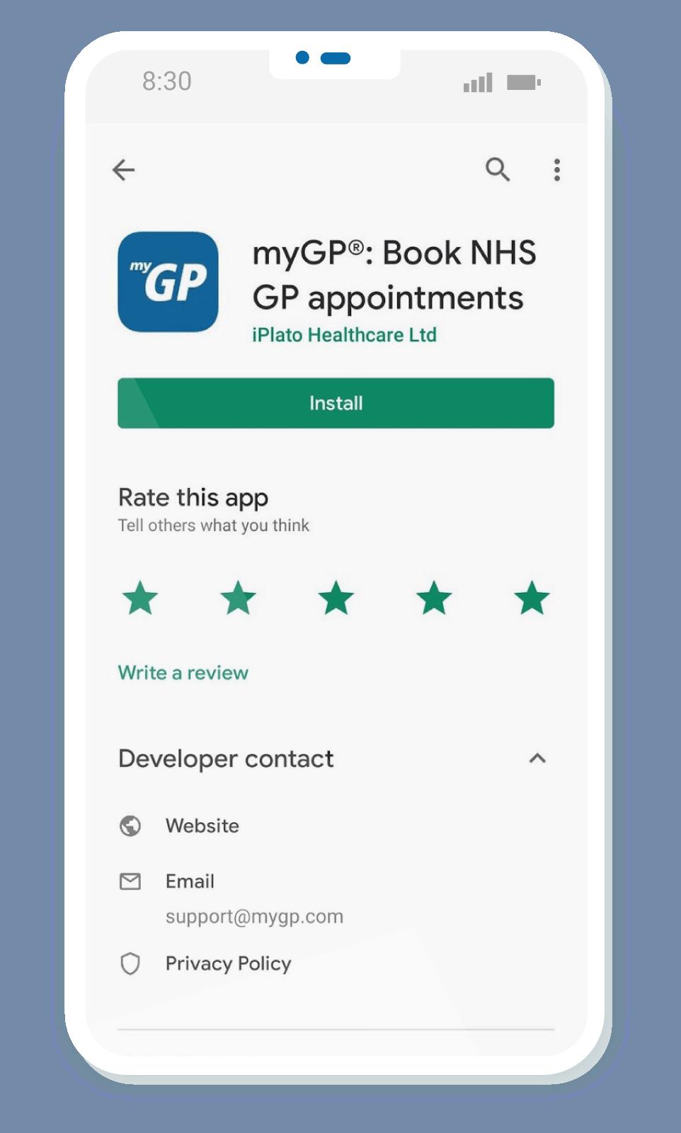 myGP app